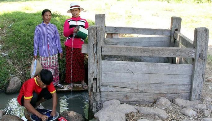 Độc đáo hai giếng cổ Chăm ở Ninh Thuận - Ảnh 2.