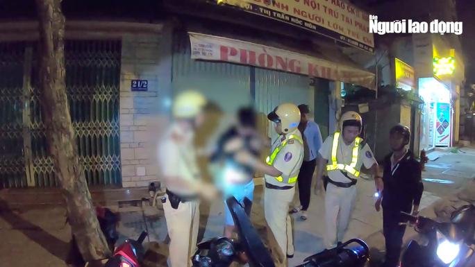 [VIDEO] - Cận cảnh lực lượng 363 Công an TP HCM trấn áp tội phạm - Ảnh 3.