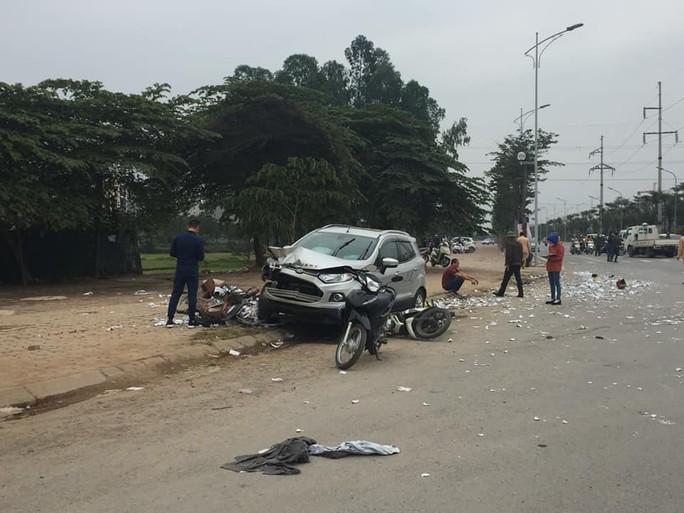 Nam tài xế gây tai nạn liên hoàn khiến 2 vợ chồng tử vong ra trình diện - Ảnh 1.