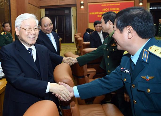 Tổng Bí thư, Chủ tịch nước chủ trì hội nghị Quân ủy Trung ương - Ảnh 1.