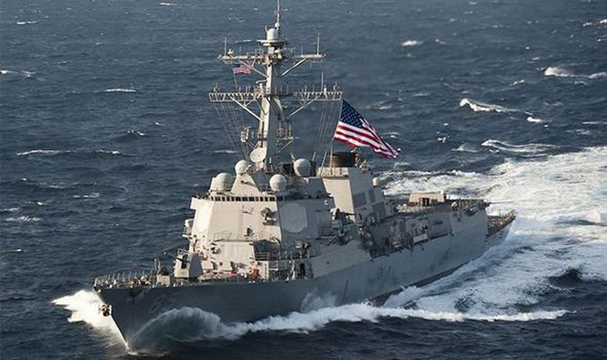 Mỹ tuần tra gần Hoàng Sa thách thức Trung Quốc - Ảnh 1.