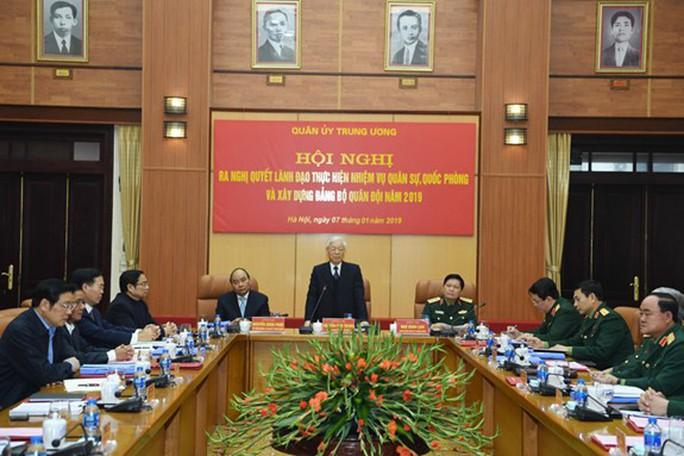Tổng Bí thư, Chủ tịch nước chủ trì hội nghị Quân ủy Trung ương - Ảnh 3.