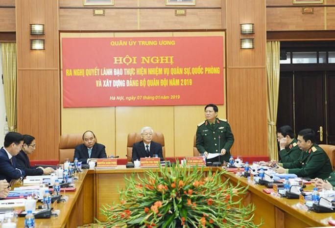 Tổng Bí thư, Chủ tịch nước chủ trì hội nghị Quân ủy Trung ương - Ảnh 4.