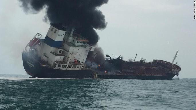 Tàu chở dầu treo cờ Việt Nam phát nổ sau khi rời Trung Quốc, ít nhất 1 người chết - Ảnh 1.