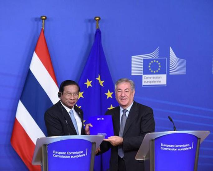 EU gỡ thẻ vàng hải sản Thái Lan - Ảnh 1.