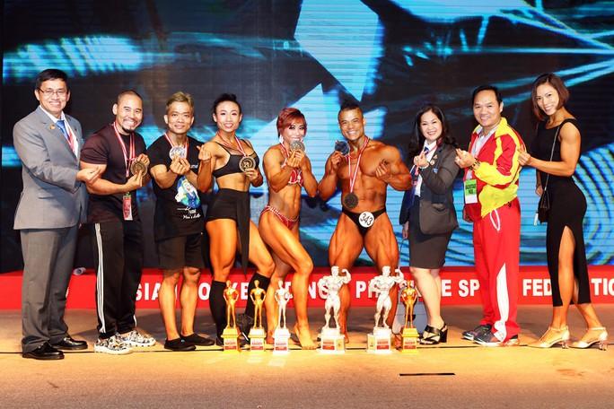 Thể hình Việt Nam giành 5 ngôi vô địch châu Á - Ảnh 1.