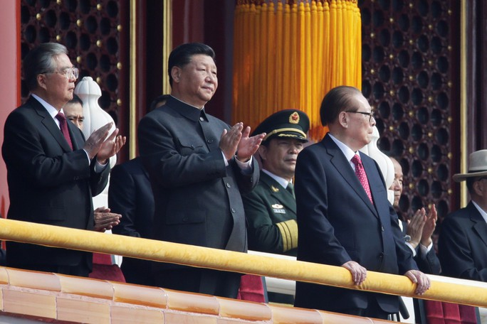 Thông điệp của ông Tập Cận Bình trong quốc khánh Trung Quốc - Ảnh 1.