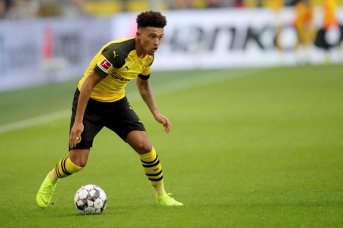 Dortmund sợ mất thần đồng Sancho vào tay Man United - Ảnh 1.