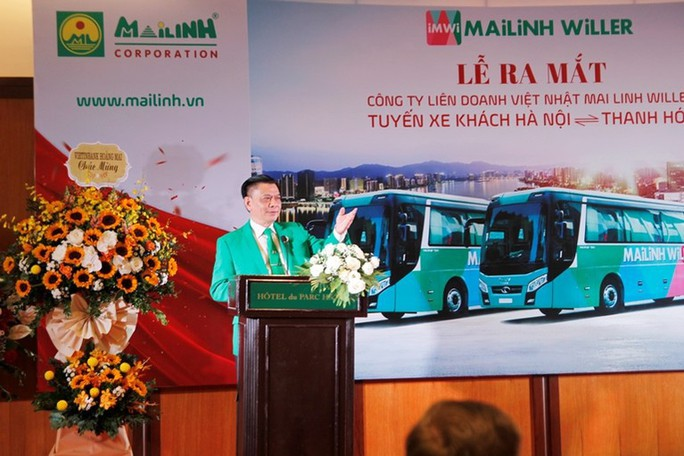 Mai Linh - Willer đưa vào hoạt động tuyến xe khách chuẩn dịch vụ Nhật Bản - Ảnh 1.