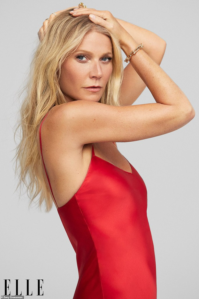Minh tinh Gwyneth Paltrow bán khỏa thân trên tạp chí - Ảnh 2.