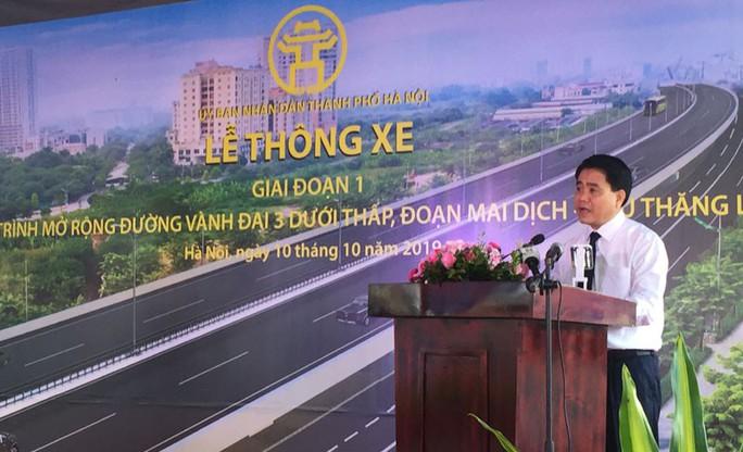 Hà Nội thông xe đường vành đai 3 hơn 3.100 tỉ đồng - Ảnh 1.