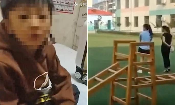 Trung Quốc: Trường mẫu giáo ép học sinh ăn trong nhà vệ sinh - Ảnh 1.