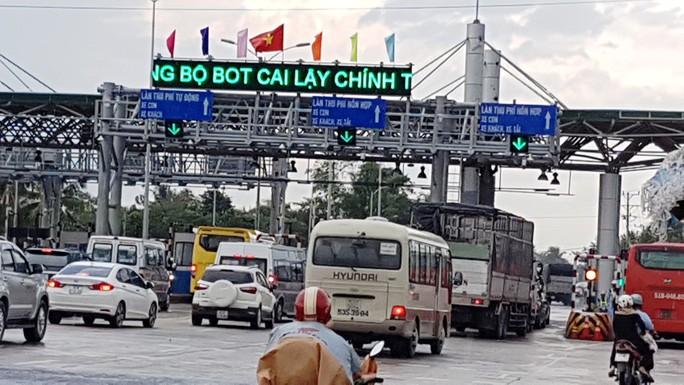 Đề xuất xóa bỏ BOT Cai Lậy, thu phí lại đường cao tốc TP HCM - Trung Lương - Ảnh 1.