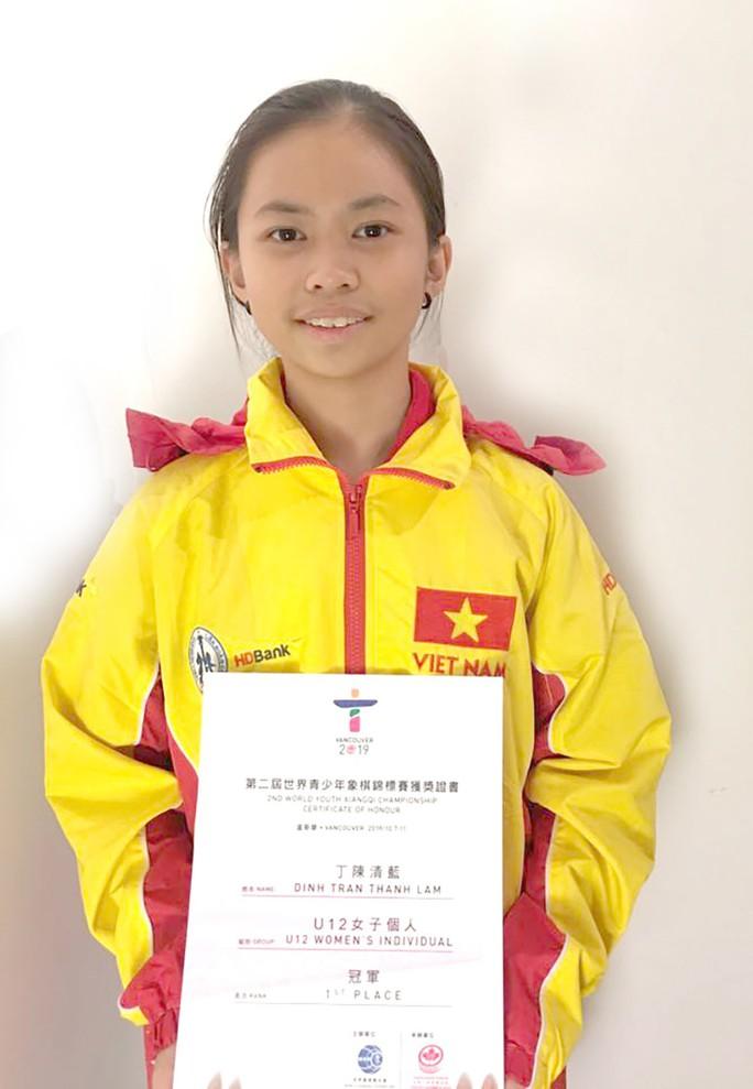 Cờ tướng Việt Nam giành HCV trẻ thế giới - Ảnh 1.