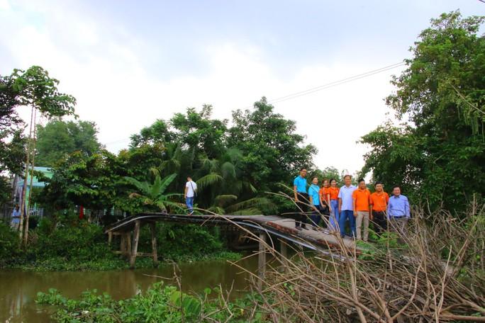 Đồng Tháp xây dựng cây cầu mang tên Đại tá phi công Nguyễn Văn Bảy - Ảnh 1.