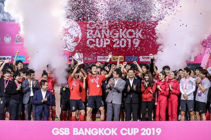 Chủ nhà Thái Lan đại bại, U19 Việt Nam về nhì GSB Bangkok Cup - Ảnh 4.