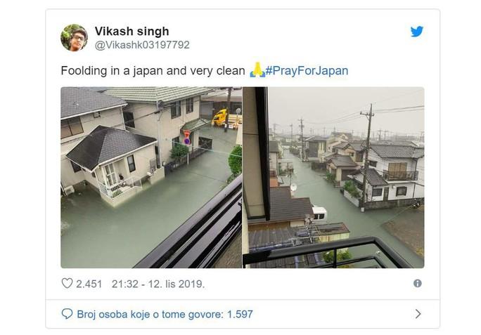 """""""Nước lũ ở Nhật Bản rất sạch""""  - Ảnh 1."""