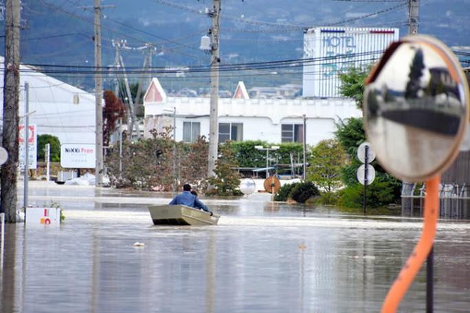 """""""Nước lũ ở Nhật Bản rất sạch""""  - Ảnh 6."""