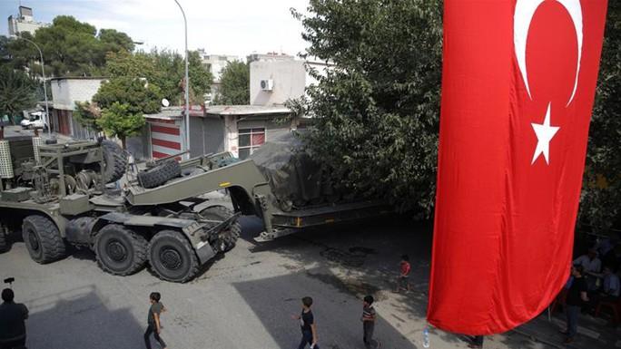 """Thổ Nhĩ Kỳ tấn công vào Syria đến khi """"hết khủng bố thì thôi"""" - Ảnh 1."""