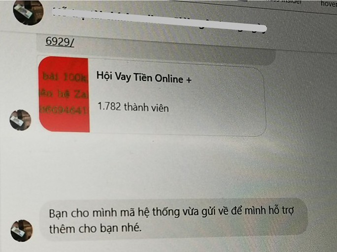 Xuất hiện trò lừa ép người dùng vay online rủi ro cao - Ảnh 2.