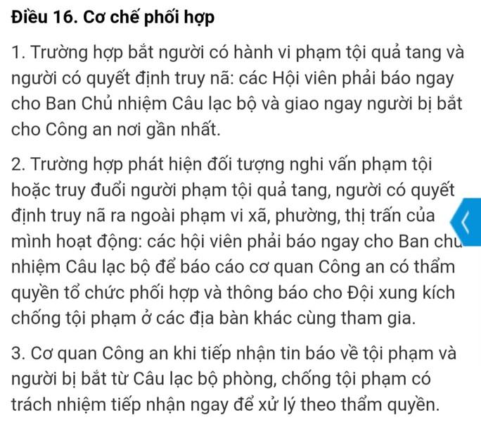 Bình Dương: Xem xét vụ hiệp sĩ Nguyễn Thanh Hải bỏ CLB phòng chống tội phạm - Ảnh 1.