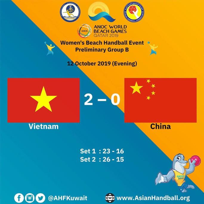 Bóng ném nữ Việt Nam loại Trung Quốc, Argentina vào bán kết thế giới - Ảnh 3.