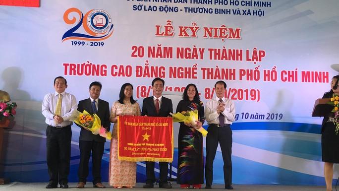 Đề nghị Trường CĐ Nghề TP HCM phát triển đội ngũ, liên kết đào tạo nhân lực cho TP - Ảnh 1.
