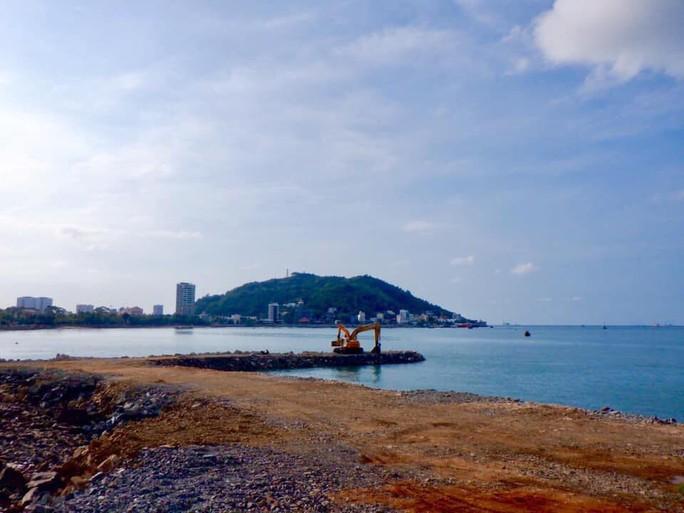Choáng với dự án độc chiếm 1 phần bãi biển Vũng Tàu nhìn từ trên cao - Ảnh 7.