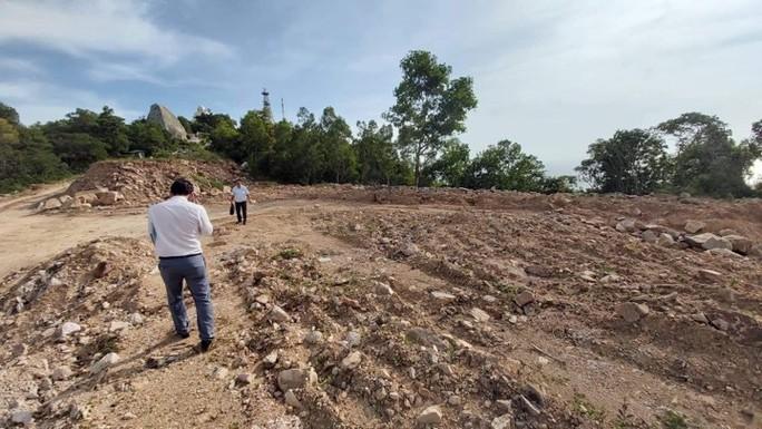 Lộ công trình bạt núi khủng ở TP Vũng Tàu - Ảnh 1.