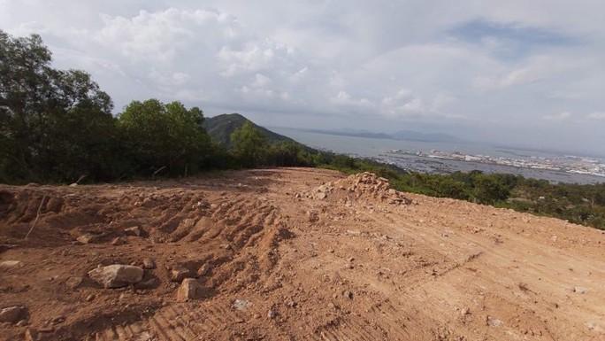 Lộ công trình bạt núi khủng ở TP Vũng Tàu - Ảnh 2.