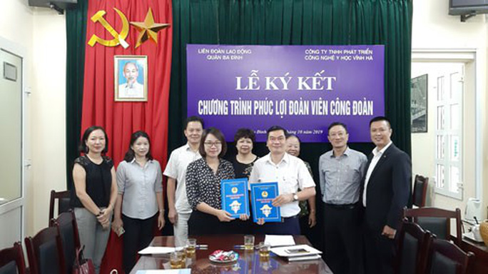 Hà Nội: Hợp tác nâng cao phúc lợi cho đoàn viên - Ảnh 1.