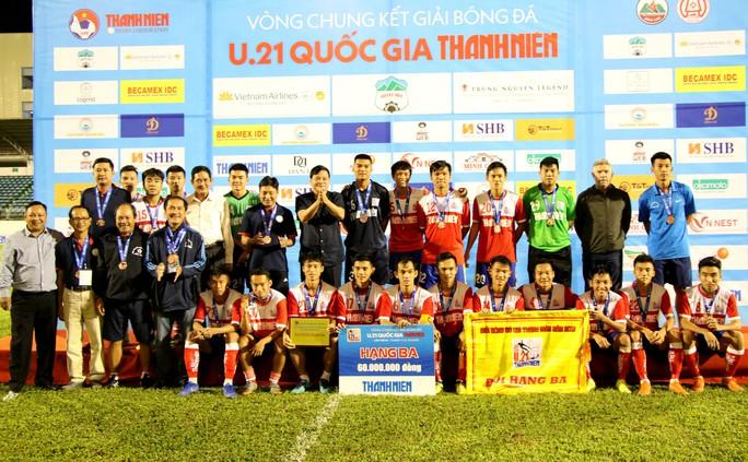 Thắng kịch tính, Hà Nội xuất sắc vào chung kết giải U21 quốc gia - Ảnh 3.