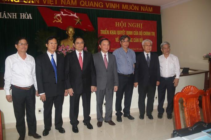 Công bố ông Nguyễn Khắc Định là tân Bí thư Tỉnh ủy Khánh Hòa - Ảnh 4.