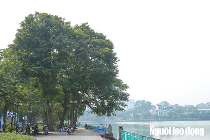 Hình ảnh không khí đặc quánh, mờ mịt ở Hà Nội - Ảnh 4.