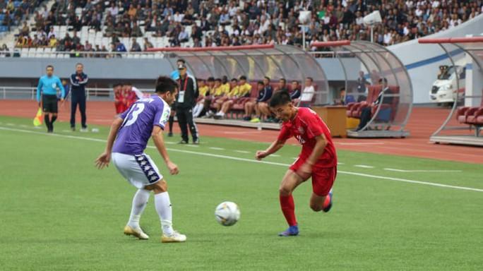Bất lực trước hàng phòng ngự tuyển Triều Tiên, CLB Hà Nội tan mộng vào chung kết AFC Cup - Ảnh 1.