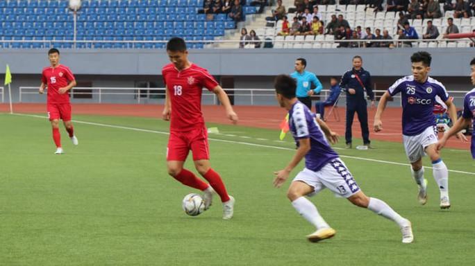 Bất lực trước hàng phòng ngự tuyển Triều Tiên, CLB Hà Nội tan mộng vào chung kết AFC Cup - Ảnh 2.