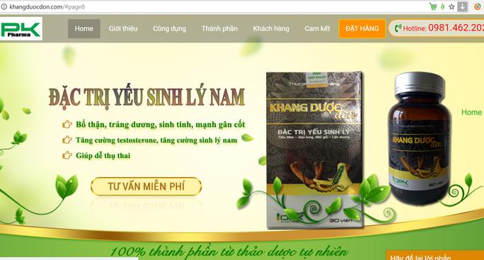 Lật bài quảng cáo thực phẩm chức năng trên mạng xã hội - Ảnh 4.