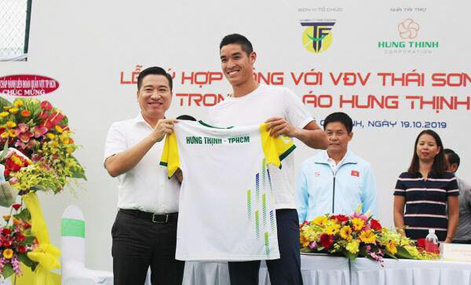Hưng Thịnh - TP HCM chiêu mộ tay vợt Thái Sơn - tốp 200 ATP - Ảnh 2.