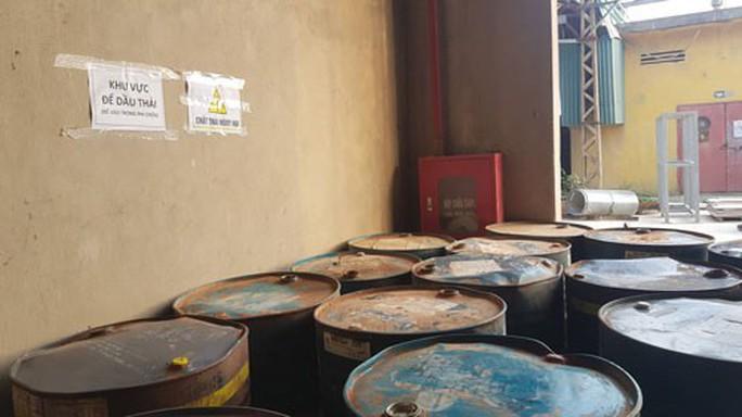 Nước sạch Sông Đà nhiễm dầu: Dầu thải của Công ty Gốm sứ Thanh Hà - Ảnh 1.