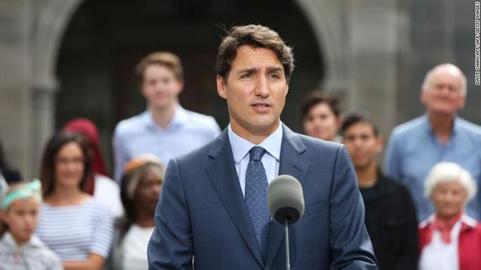 Ông Trudeau thắng nhiệm kỳ thủ tướng thứ hai - Ảnh 1.