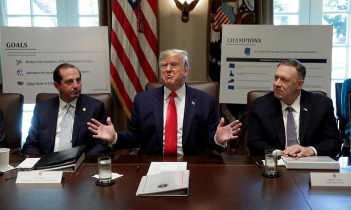 Đảng Dân chủ công bố luận điểm luận tội ông Donald Trump - Ảnh 2.