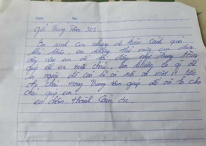 Bé gái 2 ngày tuổi bị bỏ rơi bên đường cùng bức tâm thư của người mẹ vô danh - Ảnh 2.