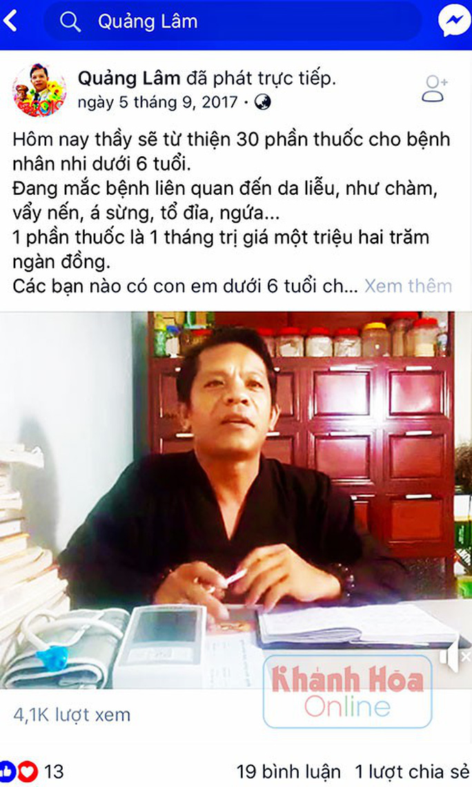 Phơi bày bí mật về thầy Quảng Lâm bên ngôi biệt thự xa hoa - Ảnh 1.