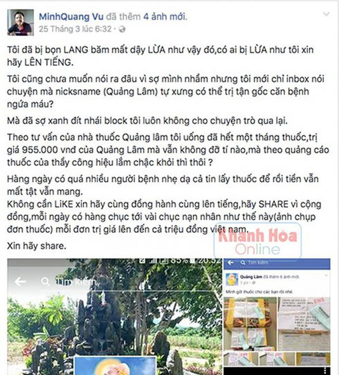 Phơi bày bí mật về thầy Quảng Lâm bên ngôi biệt thự xa hoa - Ảnh 4.