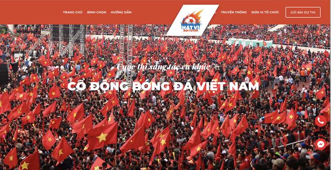 Cuộc thi sáng tác Bài hát cổ động bóng đá Việt Nam: Tăng tốc về đích - Ảnh 6.