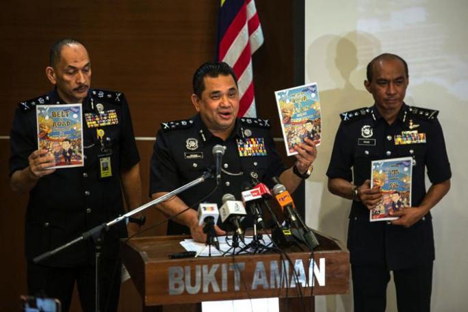 Malaysia cấm truyện tranh có nội dung liên quan Vành đai và Con đường - Ảnh 1.