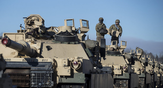 """Nga thêm quân, Mỹ """"sắp triển khai xe tăng ở Syria"""" - Ảnh 2."""