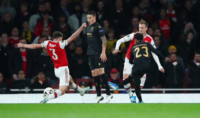 Tân binh 72 triệu bảng lập công, Arsenal toàn thắng Europa League - Ảnh 2.