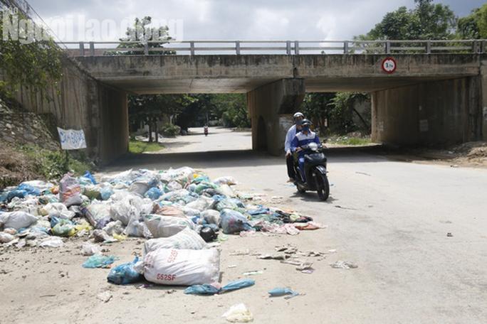 Nín thở cuộc thoại với người dân ngăn cản xe vào bãi rác ở Quảng Nam - Ảnh 6.