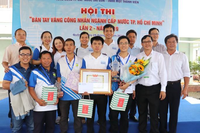 Sôi nổi hội thi Bàn tay vàng công nhân ngành Cấp nước TP HCM - Ảnh 4.